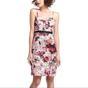 Anthropologie Hedgerow Corset Sheath Dress